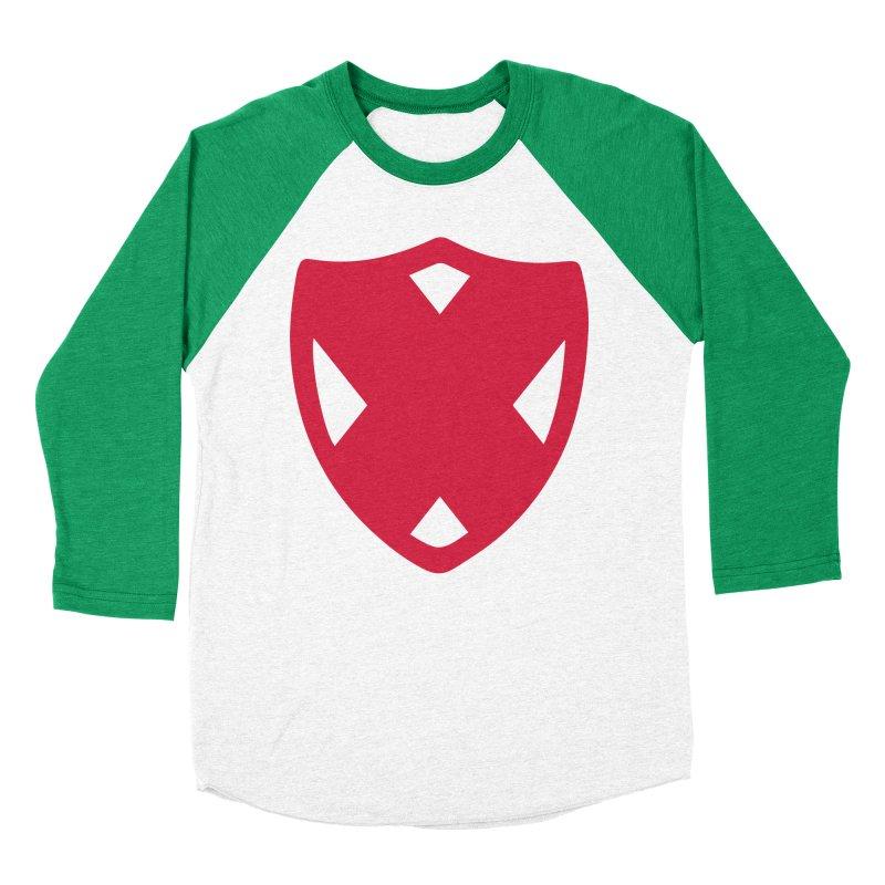 Shield Men's Baseball Triblend Longsleeve T-Shirt by Camp St. Andrews