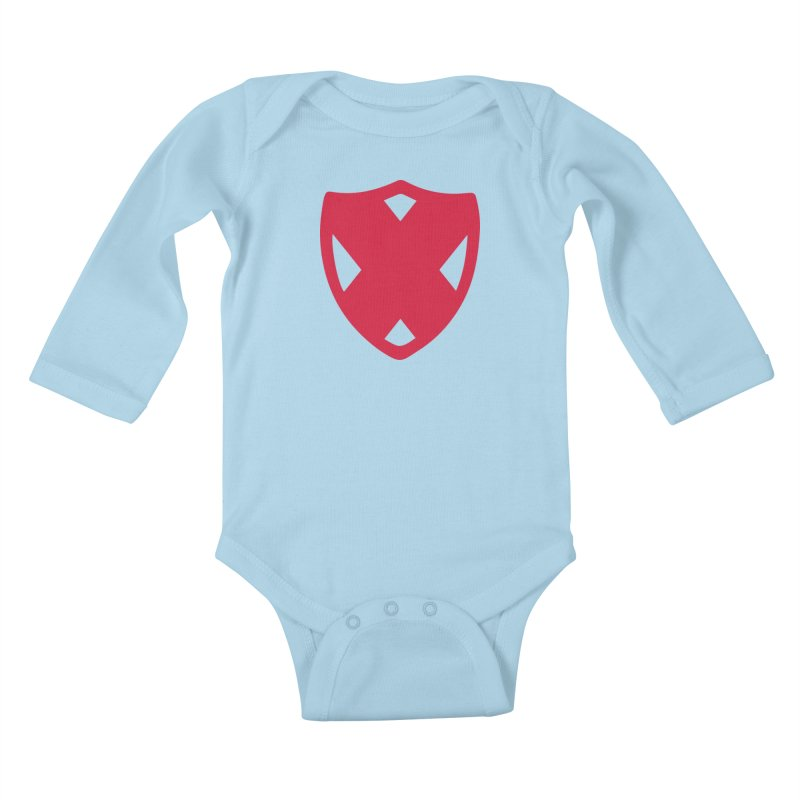 Shield Kids Baby Longsleeve Bodysuit by Camp St. Andrews