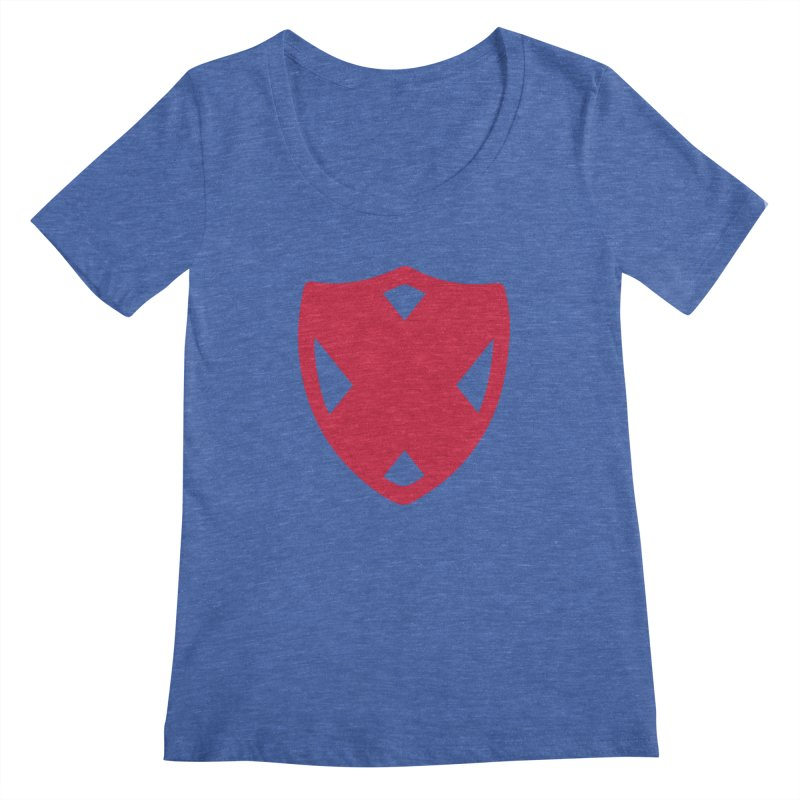 Shield Women's Scoopneck by Camp St. Andrews