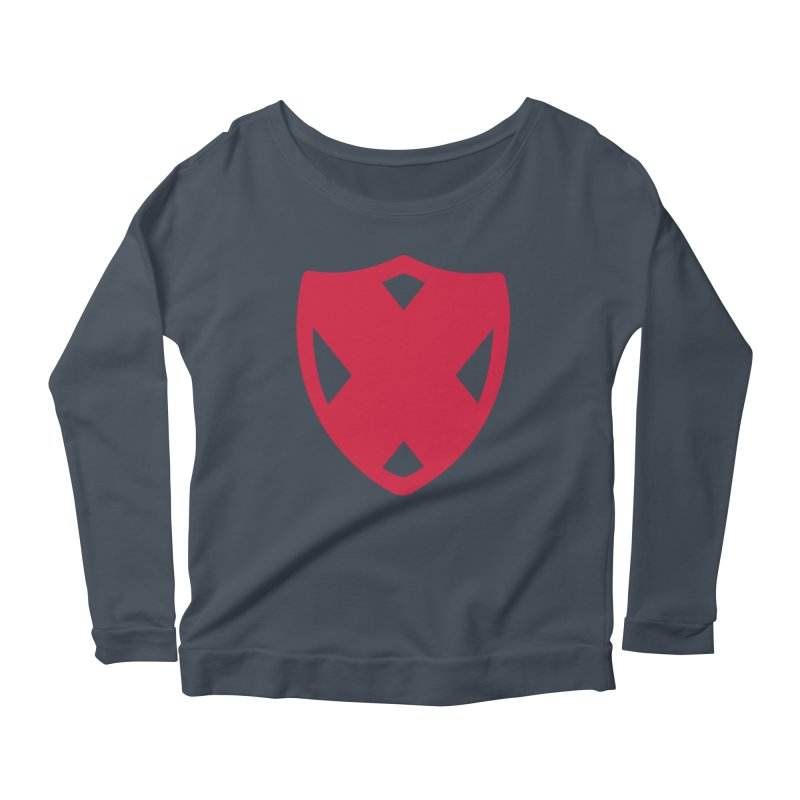 Shield Women's Scoop Neck Longsleeve T-Shirt by Camp St. Andrews