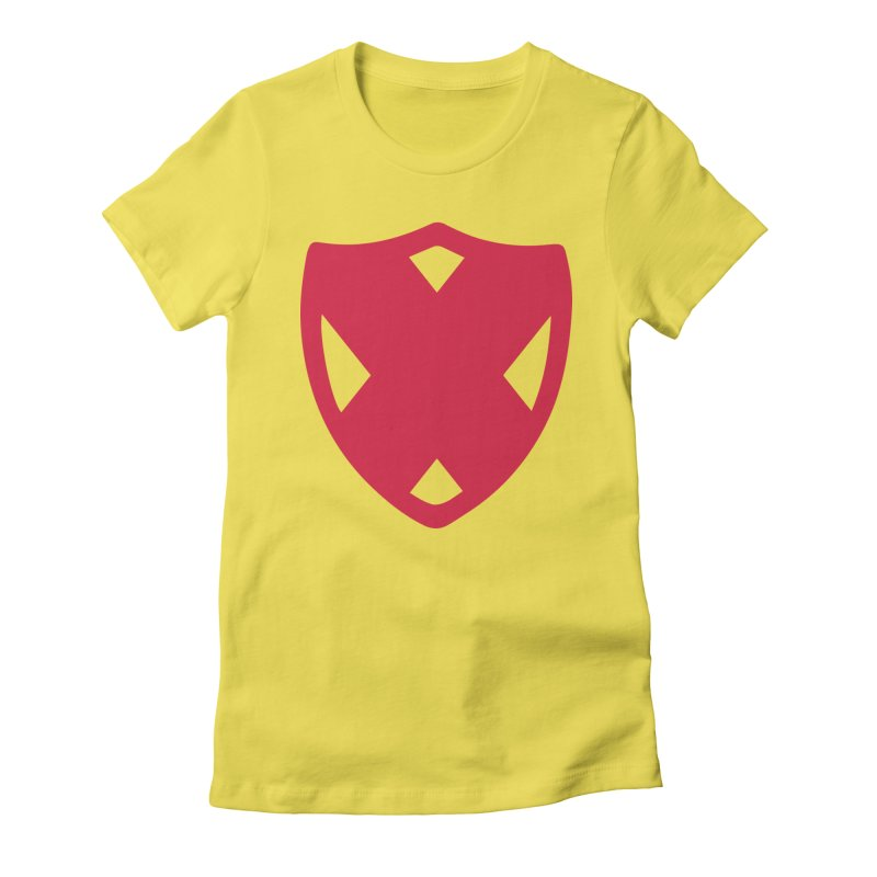 Shield Women's Fitted T-Shirt by Camp St. Andrews