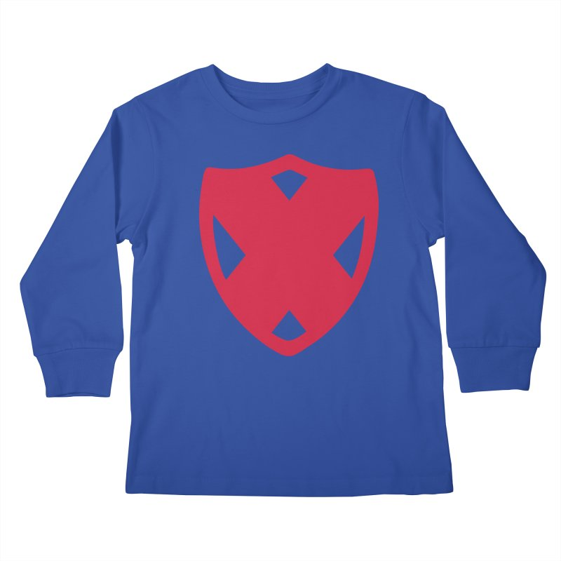 Shield Kids Longsleeve T-Shirt by Camp St. Andrews
