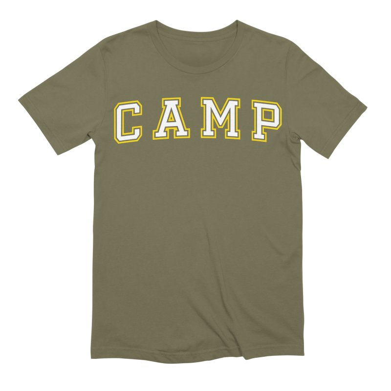 Camp Men's Extra Soft T-Shirt by Camp St. Andrews
