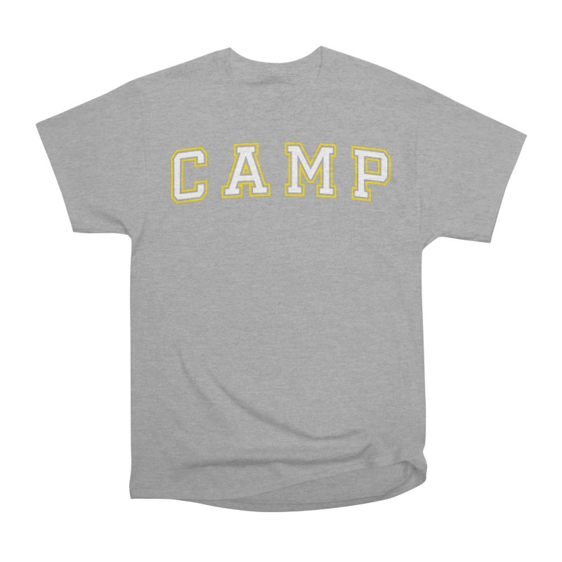 Camp Women's Heavyweight Unisex T-Shirt by Camp St. Andrews