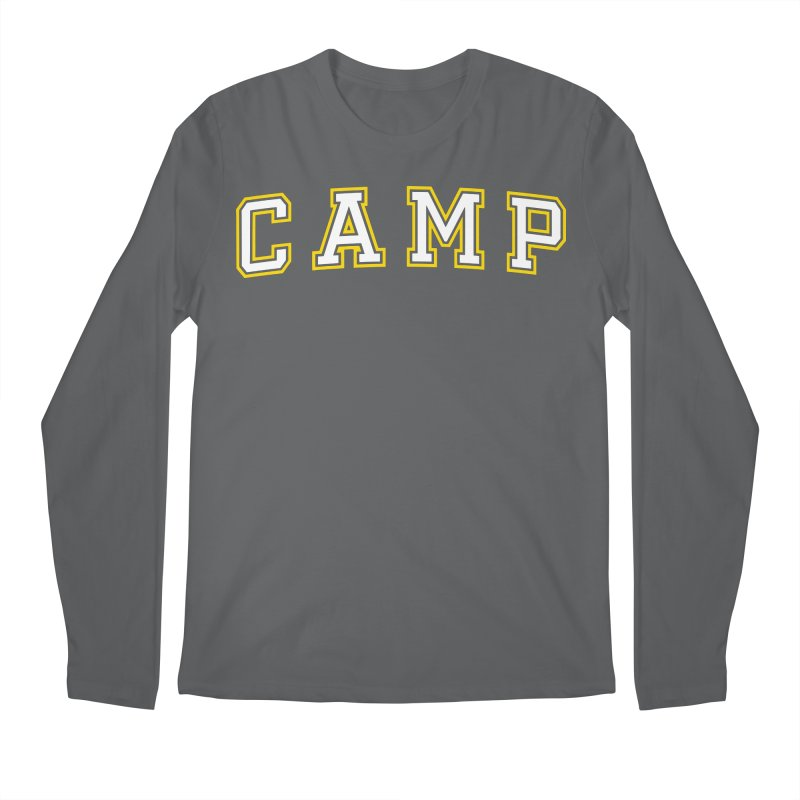 Camp Men's Regular Longsleeve T-Shirt by Camp St. Andrews