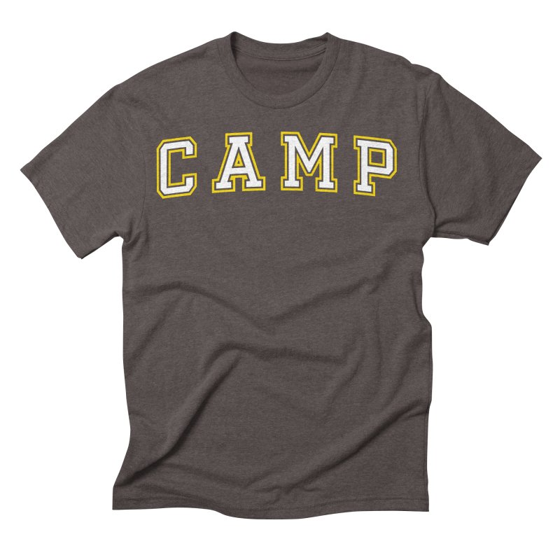 Camp Men's Triblend T-shirt by Camp St. Andrews