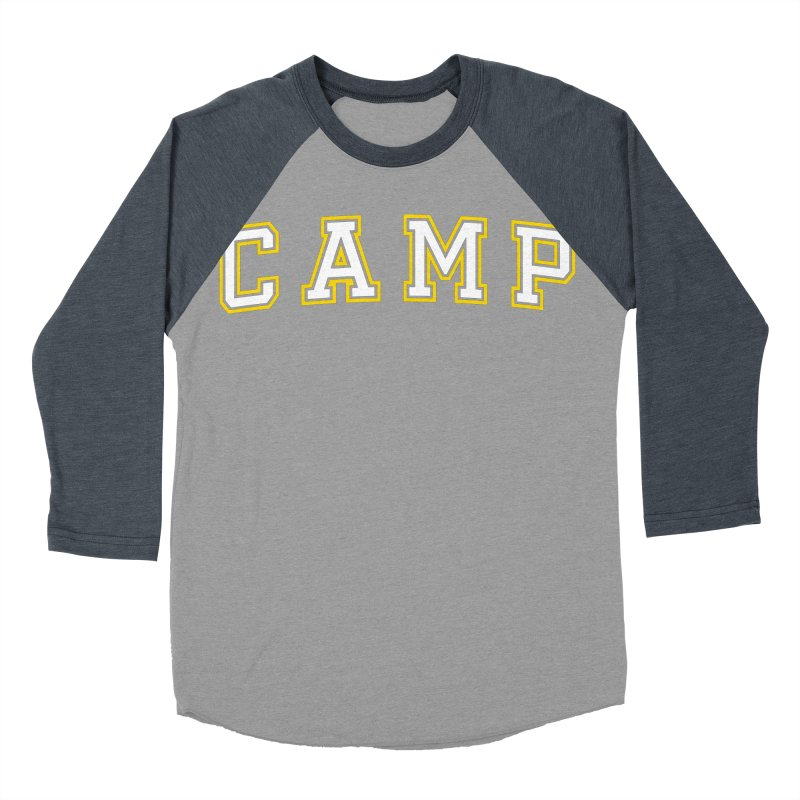 Camp Women's Baseball Triblend Longsleeve T-Shirt by Camp St. Andrews