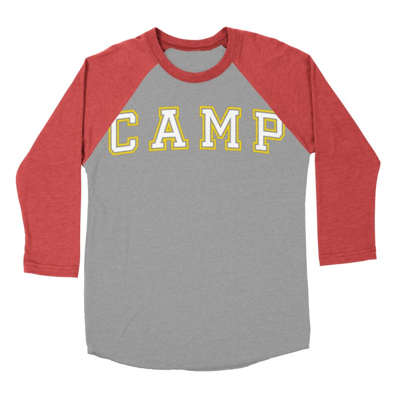 Camp Men's Baseball Triblend T-Shirt by Camp St. Andrews