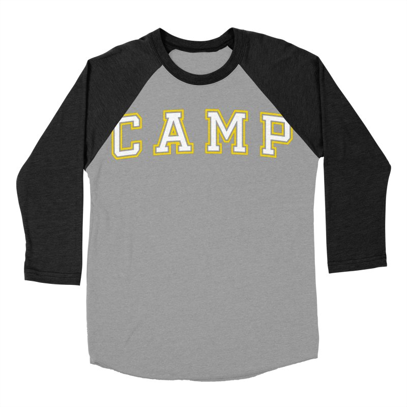 Camp Men's Baseball Triblend Longsleeve T-Shirt by Camp St. Andrews