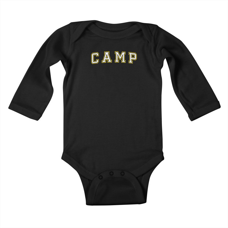 Camp Kids Baby Longsleeve Bodysuit by Camp St. Andrews