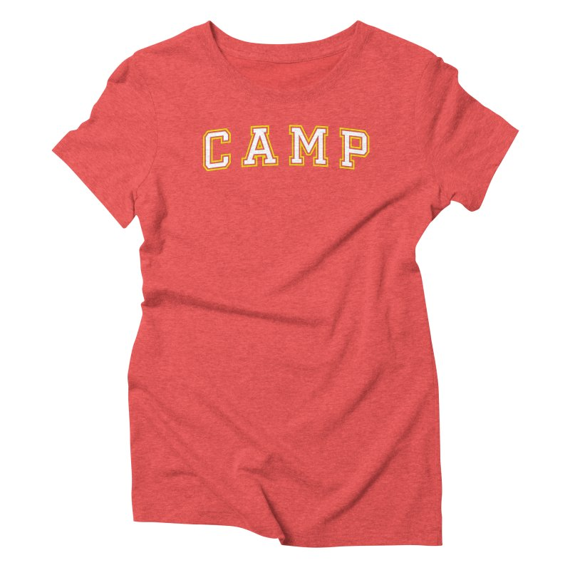 Camp Women's Triblend T-Shirt by Camp St. Andrews