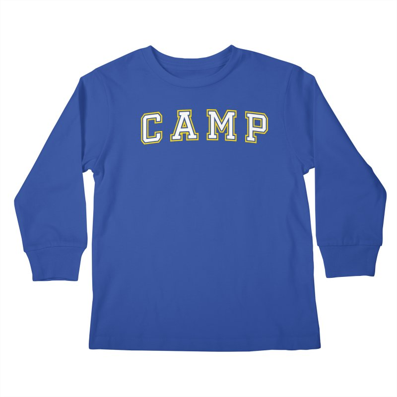 Camp Kids Longsleeve T-Shirt by Camp St. Andrews