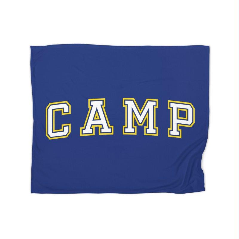 Camp Home Fleece Blanket Blanket by Camp St. Andrews