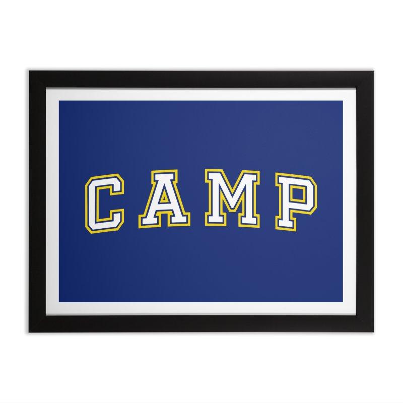 Camp Home Framed Fine Art Print by Camp St. Andrews