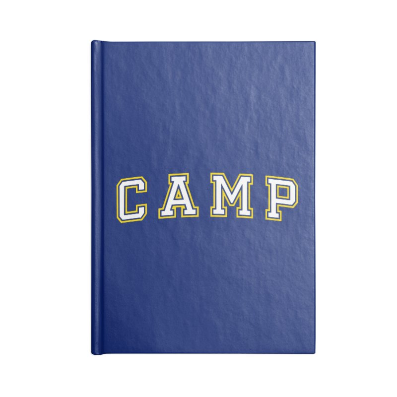 Camp Accessories Blank Journal Notebook by Camp St. Andrews