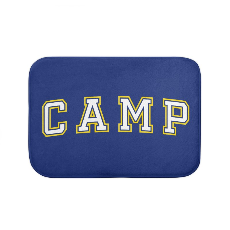 Camp Home Bath Mat by Camp St. Andrews