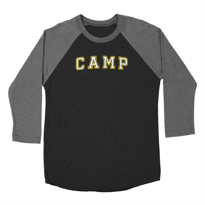 Camp Men's Baseball Triblend Longsleeve T-Shirt by Camp St. Andrews