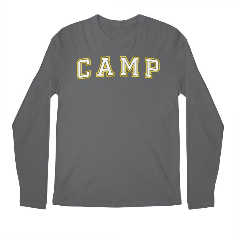 Camp Men's Regular Longsleeve T-Shirt by Camp St. Andrews