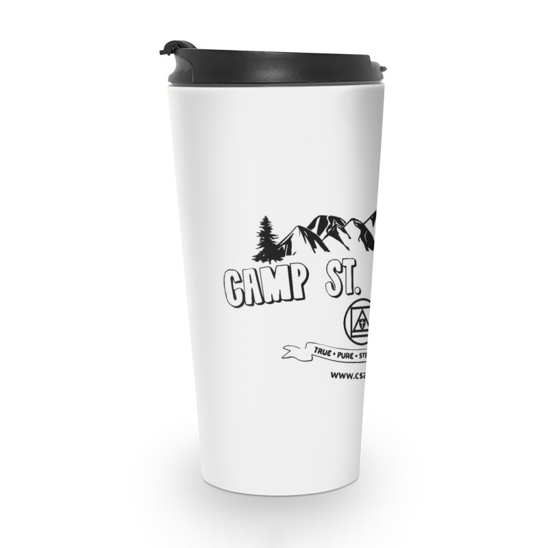 Camp St. Andrews Mountains Accessories Travel Mug by Camp St. Andrews
