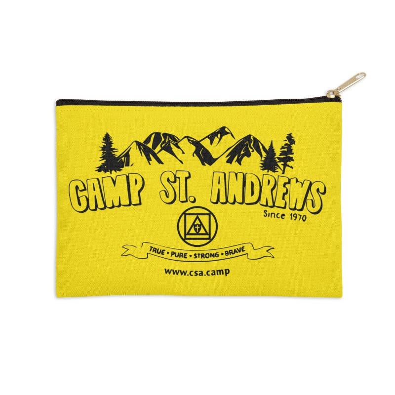 Camp St. Andrews Mountains Accessories Zip Pouch by Camp St. Andrews