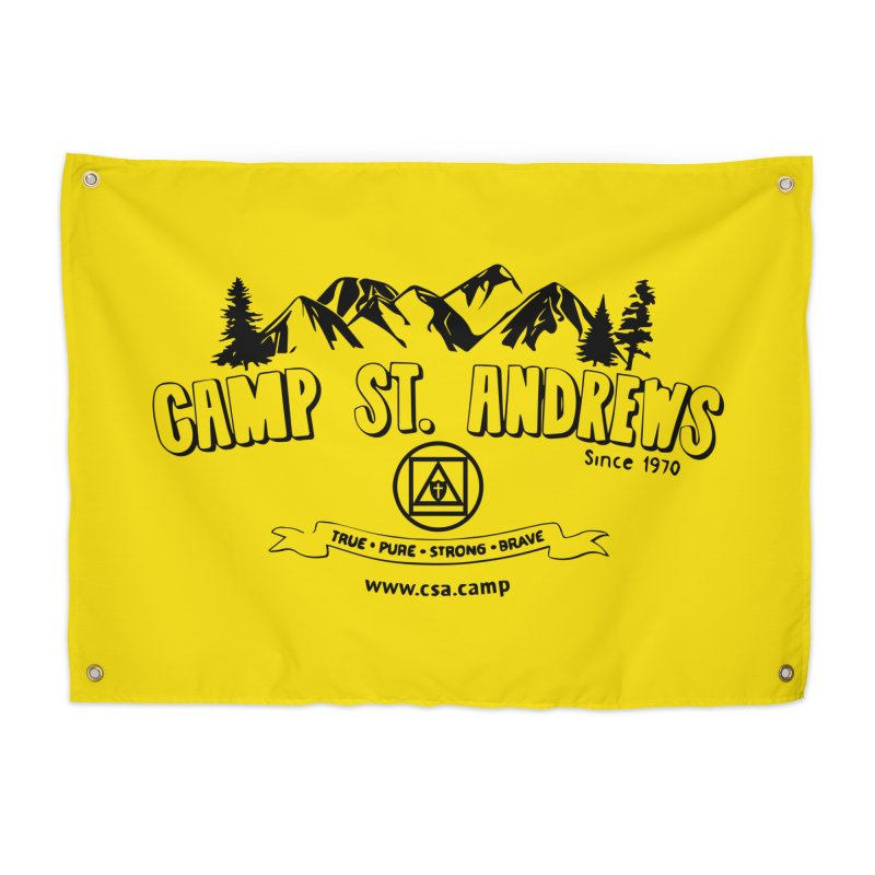 Camp St. Andrews Mountains Home Tapestry by Camp St. Andrews