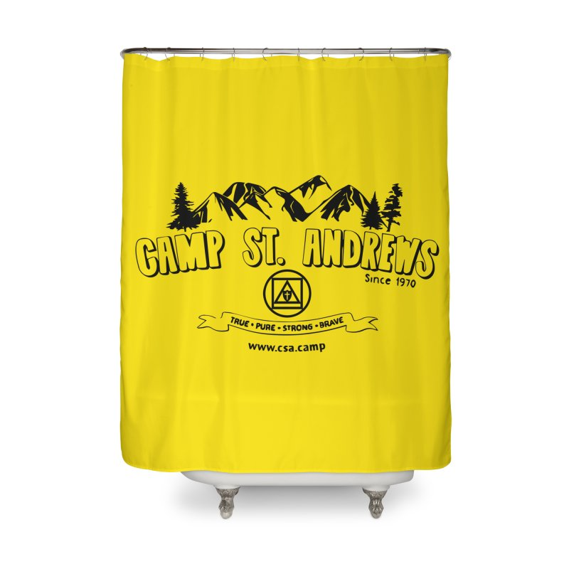 Camp St. Andrews Mountains Home Shower Curtain by Camp St. Andrews