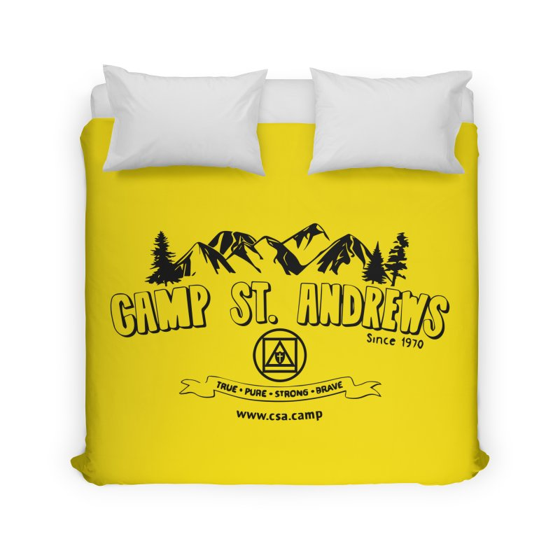 Camp St. Andrews Mountains Home Duvet by Camp St. Andrews