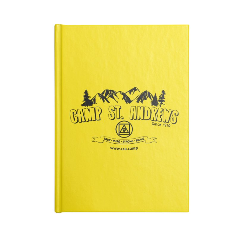 Camp St. Andrews Mountains Accessories Lined Journal Notebook by Camp St. Andrews