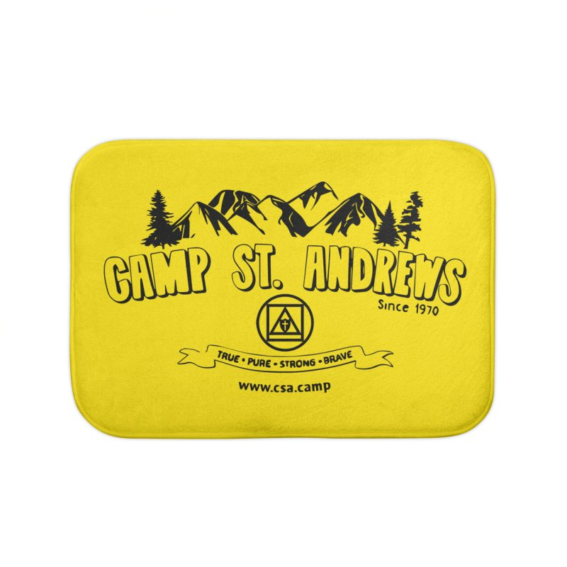 Camp St. Andrews Mountains Home Bath Mat by Camp St. Andrews