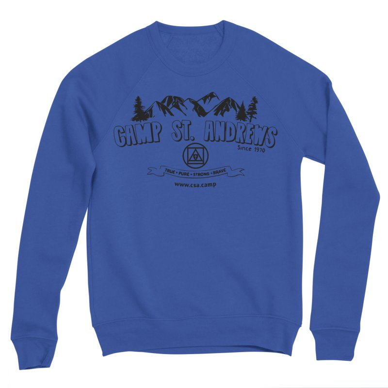 Camp St. Andrews Mountains Men's Sweatshirt by Camp St. Andrews