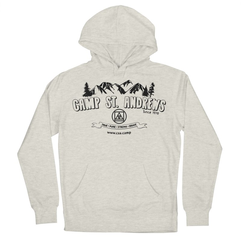 Camp St. Andrews Mountains Women's French Terry Pullover Hoody by Camp St. Andrews