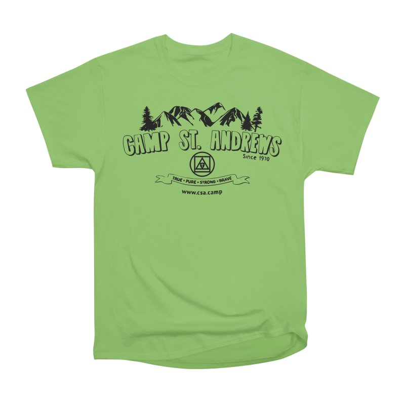 Camp St. Andrews Mountains Women's Heavyweight Unisex T-Shirt by Camp St. Andrews