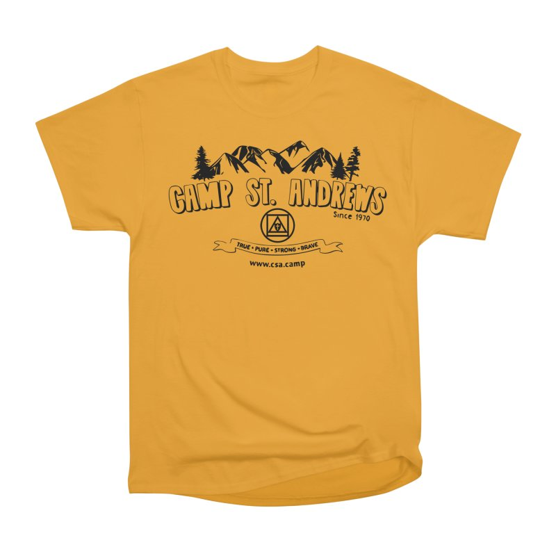 Camp St. Andrews Mountains Men's Heavyweight T-Shirt by Camp St. Andrews
