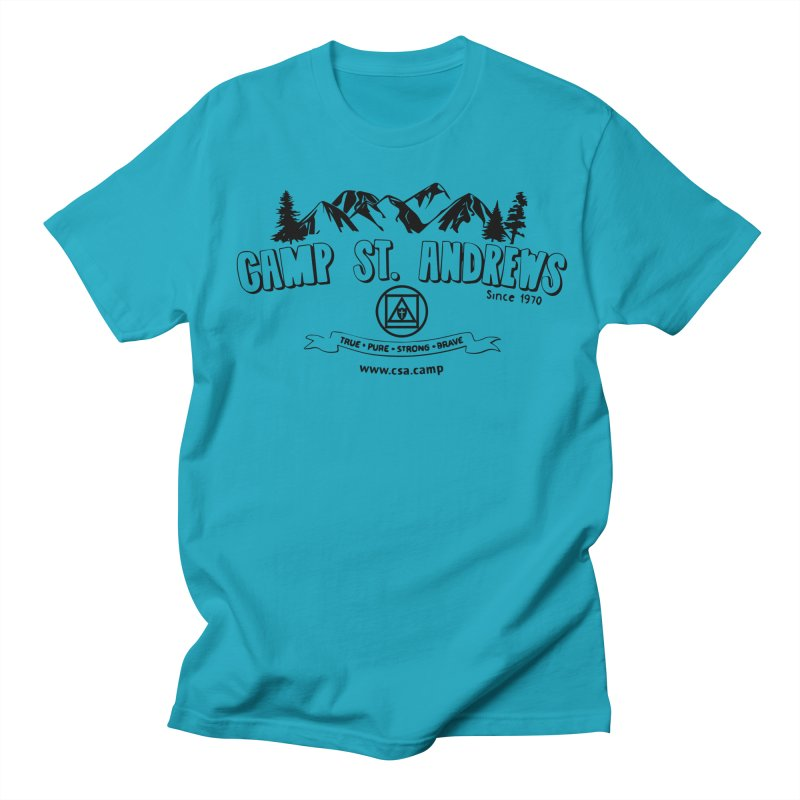 Camp St. Andrews Mountains Men's Regular T-Shirt by Camp St. Andrews