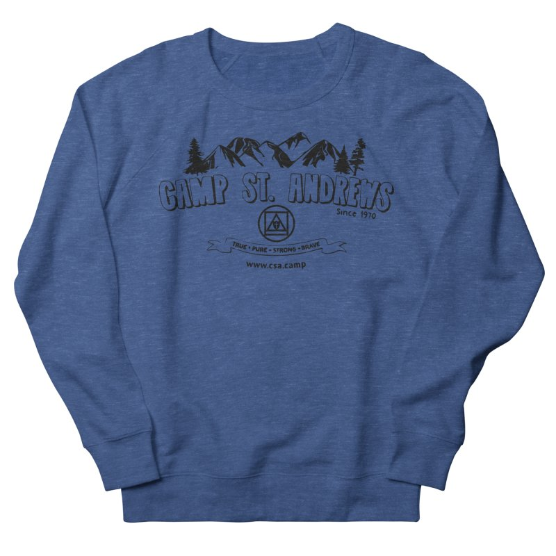 Camp St. Andrews Mountains Men's French Terry Sweatshirt by Camp St. Andrews