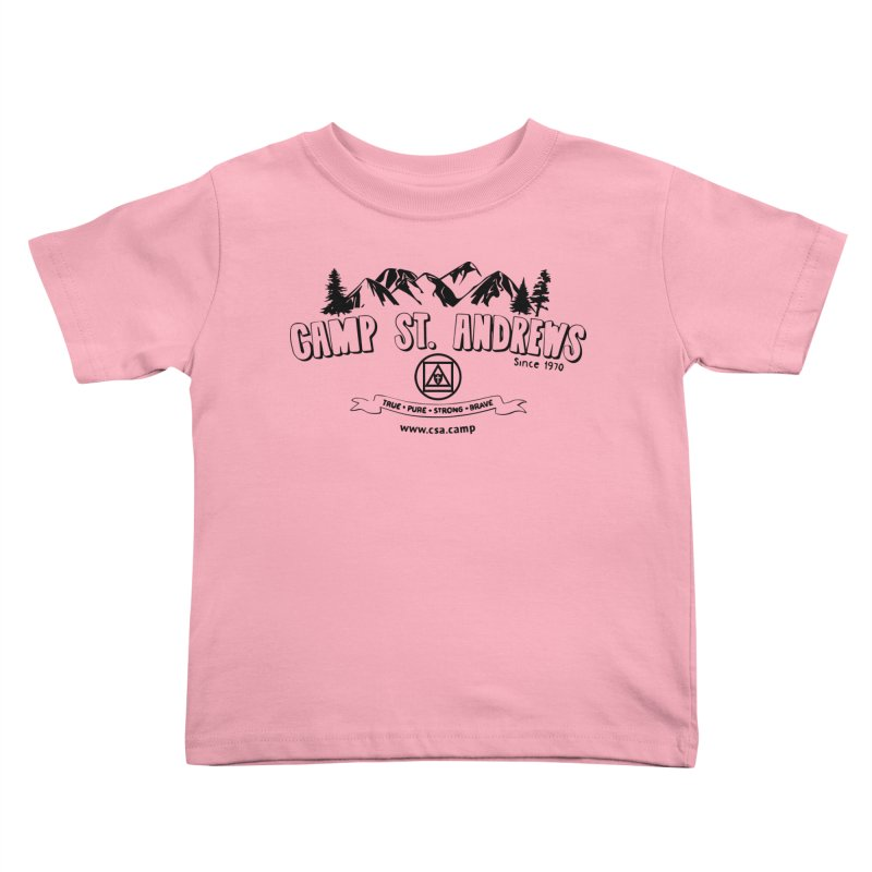 Camp St. Andrews Mountains Kids Toddler T-Shirt by Camp St. Andrews