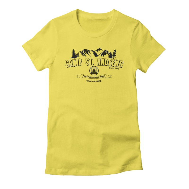 Camp St. Andrews Mountains Women's T-Shirt by Camp St. Andrews