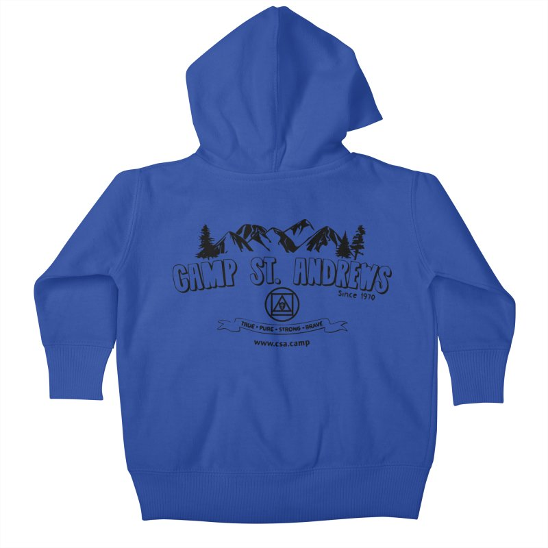 Camp St. Andrews Mountains Kids Baby Zip-Up Hoody by Camp St. Andrews