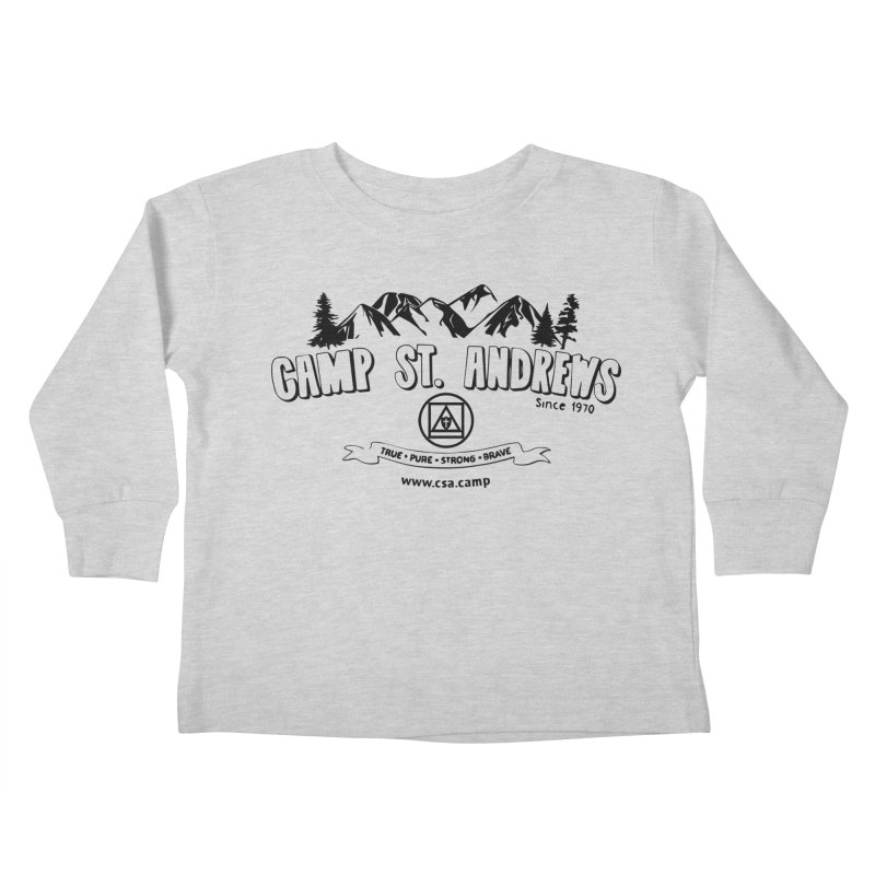 Camp St. Andrews Mountains Kids Toddler Longsleeve T-Shirt by Camp St. Andrews