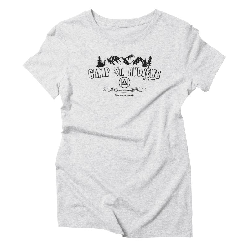Camp St. Andrews Mountains Women's Triblend T-Shirt by Camp St. Andrews