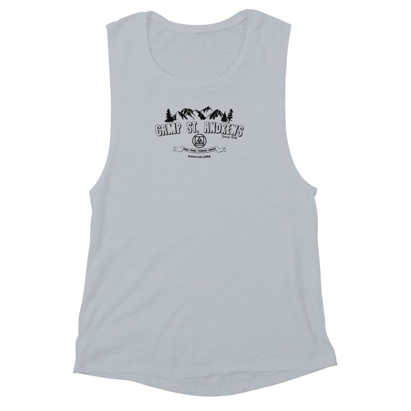 Camp St. Andrews Mountains Women's Muscle Tank by Camp St. Andrews