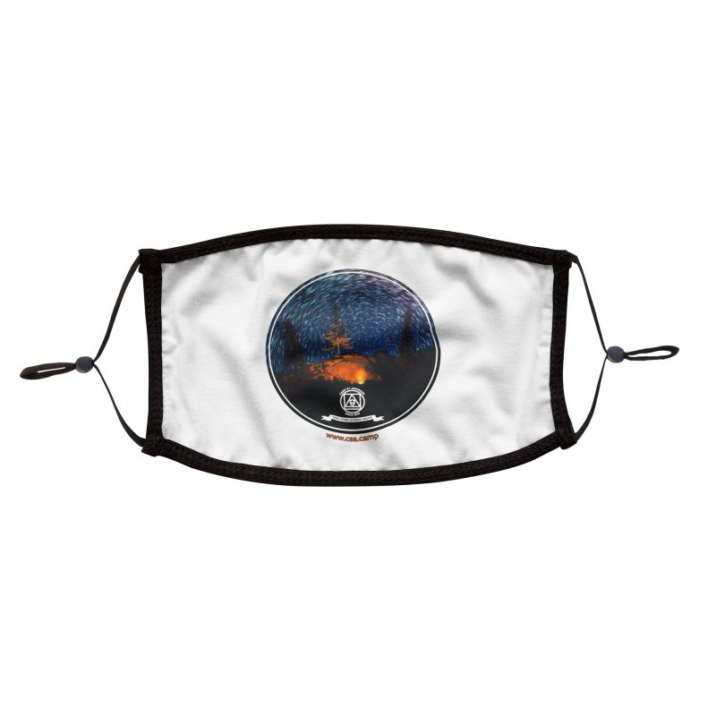 Campfire Starswirl Accessories Face Mask by Camp St. Andrews