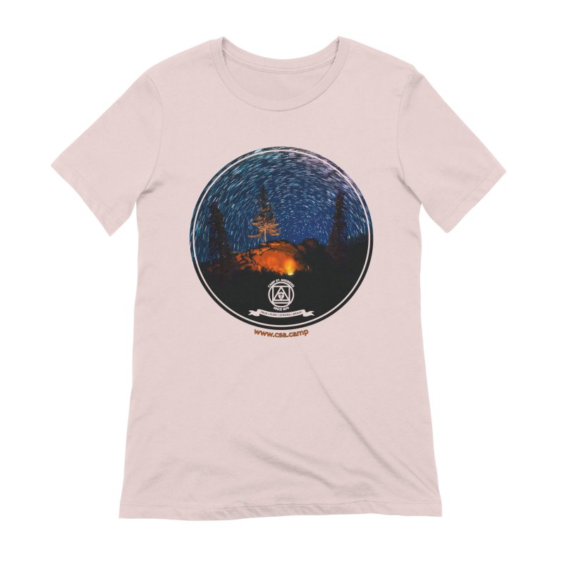 Campfire Starswirl Women's Extra Soft T-Shirt by Camp St. Andrews