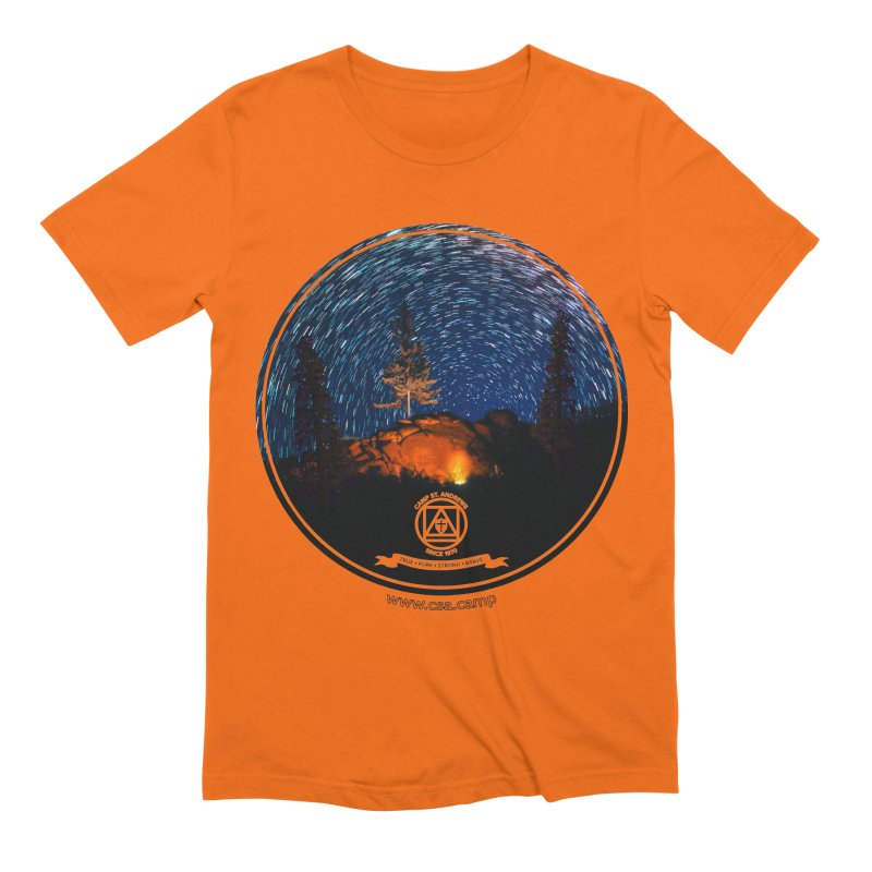 Campfire Starswirl Men's Extra Soft T-Shirt by Camp St. Andrews