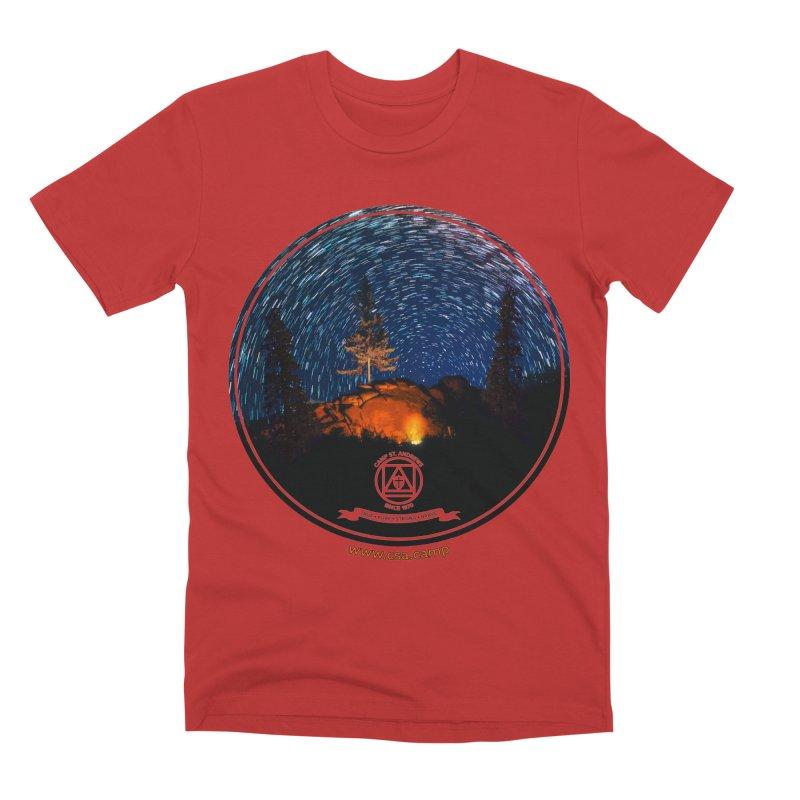 Campfire Starswirl Men's Premium T-Shirt by Camp St. Andrews