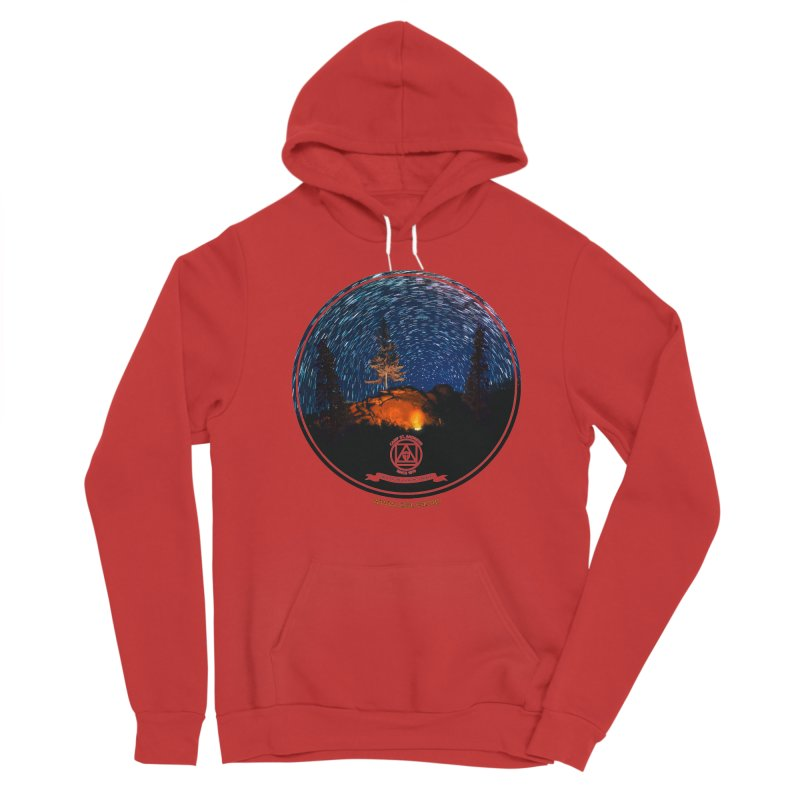 Campfire Starswirl Women's Pullover Hoody by Camp St. Andrews