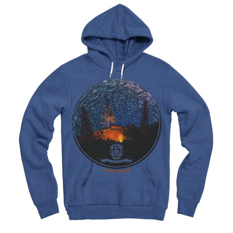 Campfire Starswirl Men's Sponge Fleece Pullover Hoody by Camp St. Andrews