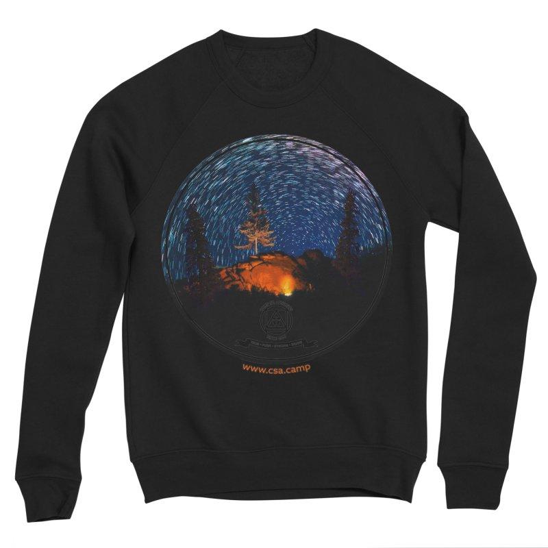 Campfire Starswirl Men's Sponge Fleece Sweatshirt by Camp St. Andrews