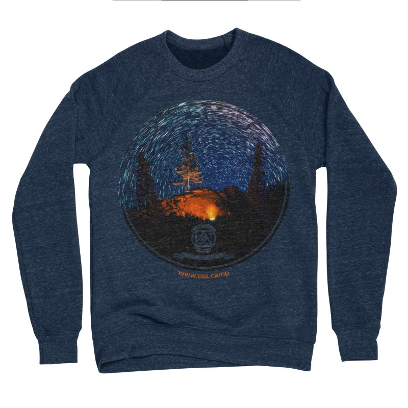 Campfire Starswirl Women's Sponge Fleece Sweatshirt by Camp St. Andrews