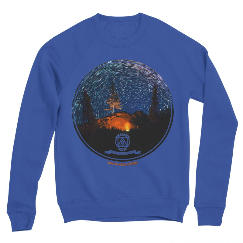 Campfire Starswirl Men's Sponge Fleece Sweatshirt by Camp St. Andrews